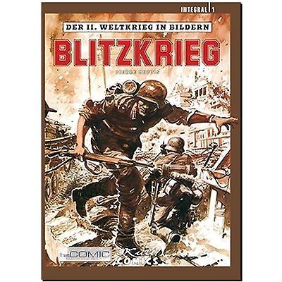 Der 2.Weltkrieg in Bildern Integral 1 Blitzkrieg COMIC Pierre Dupuis HISTORY NEU