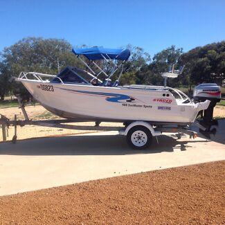 Stacer 469 Sunmaster aluminium boat Geraldton 6530 Geraldton City Preview