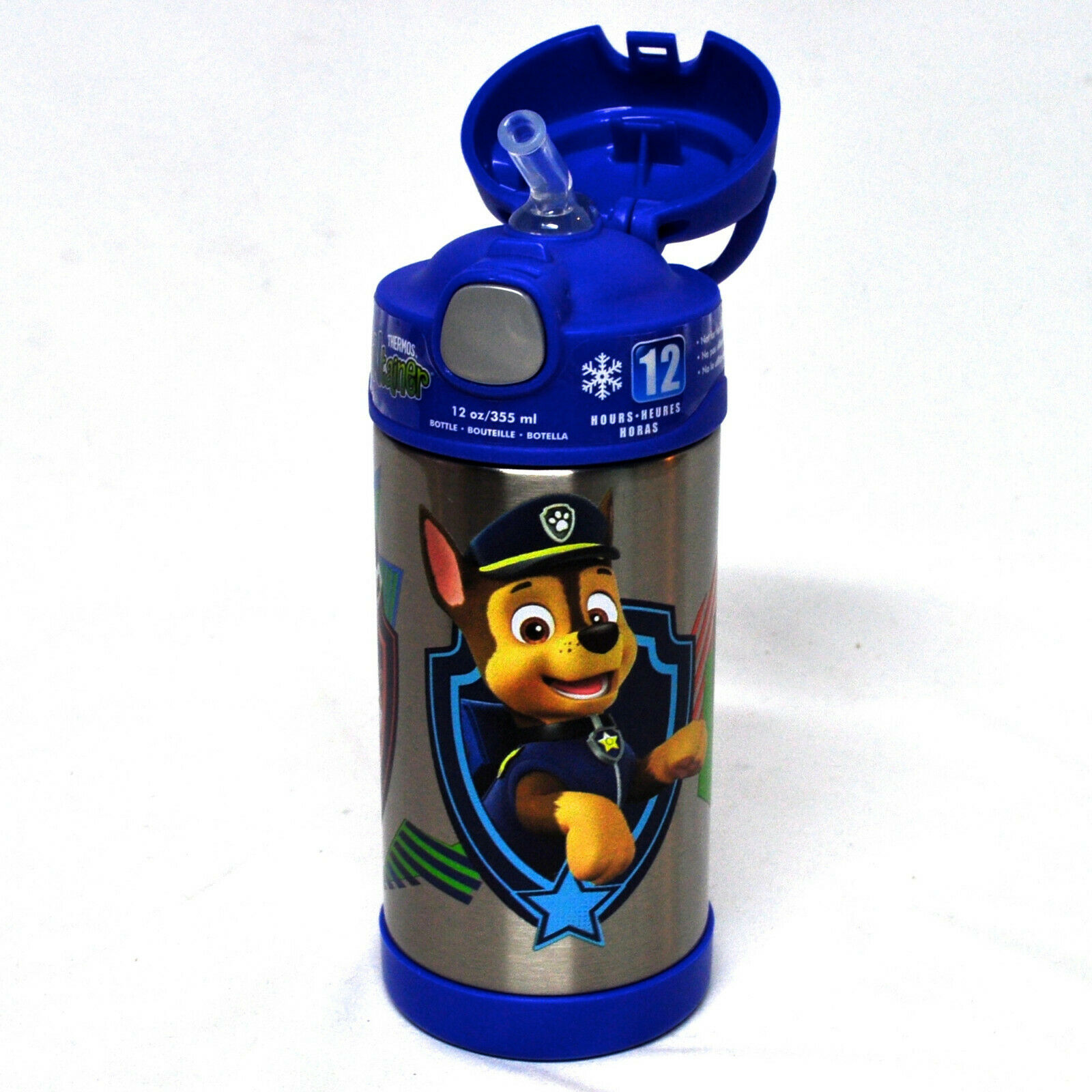 Paw Patrol Licensed Stainless Steel Funtainer Hydration Bott
