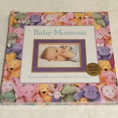 """NEW SEASONS Large Baby Moments Photo Album. 18"""" X 18"""". NEW. Sealed."""