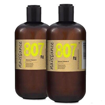 Naissance Natürliches Vitamin E Öl 1 Liter (2x500ml) - Naturkosmetik Haare