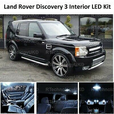 Land Rover Discovery MK4 100w Super White Xenon HID Front Fog Light Bulbs Pair