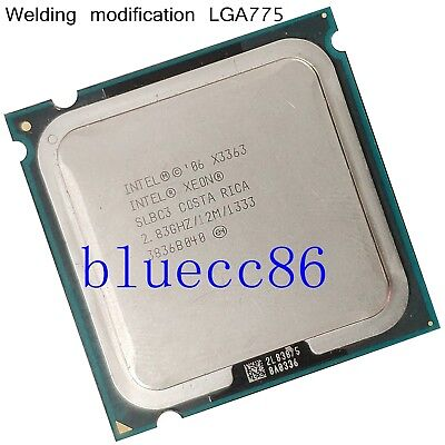 Intel Xeon X3363 2.83GHz LGA 775 SLBC3  Cach 4-Core CPU Processors similar Q9650 for sale  Shipping to Canada