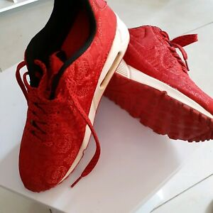 """China Red Air Max """"NIKE"""" FREE POSTAGE"""