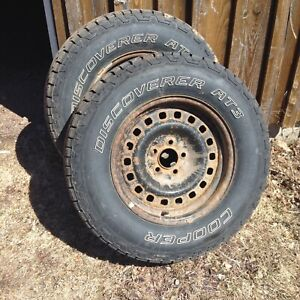 set of 4 Cooper tires for sale 16-inch