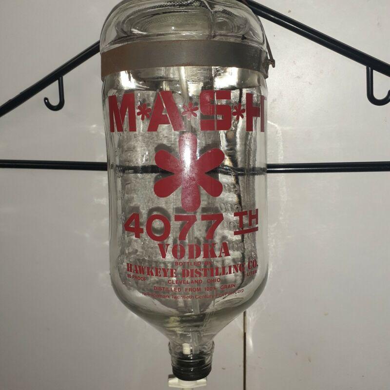M*A*S*H 4077th 1 Litre Vodka IV Drip Bottle