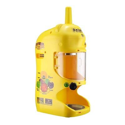 Polar Pal Yellow Hawaiian Shaved Ice Machine Ice Block Shaver Snow Cone Maker