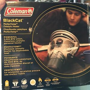 Chaufferette Catalytique Coleman Black Cat