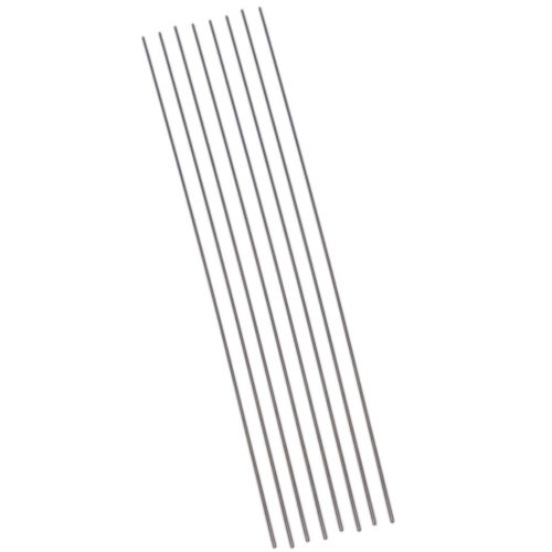 US Stock 8pcs OD 1mm ID 0.8mm Length 250mm 304 Stainless Steel Capillary Tube