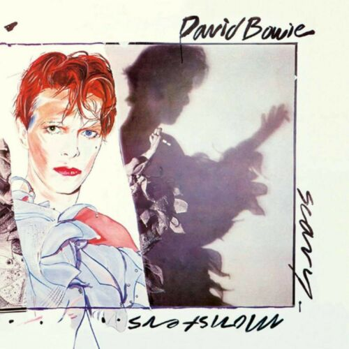 DAVID BOWIE Scary Monsters BANNER HUGE 4X4 Ft Fabric Poster Tapestry Flag art