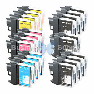 22 PACK LC65 Ink Set for Brother MFC-5890CN MFC-5895CW MFC-6490CW MFC-6890CDW