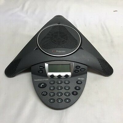 Polycom Soundstation Ip 6000 2201-15600-001 Hdvoice Poe Conference Speaker Phone