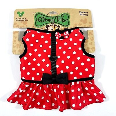 Disney Parks Tails Minnie Mouse Costume Harness for Dogs Small New with Tags](Mouse Costume For Dog)