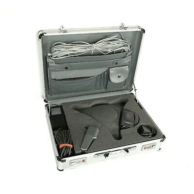 Polycom Soundstation Ex Wireless Microphone System Wmicrophone Case Cables