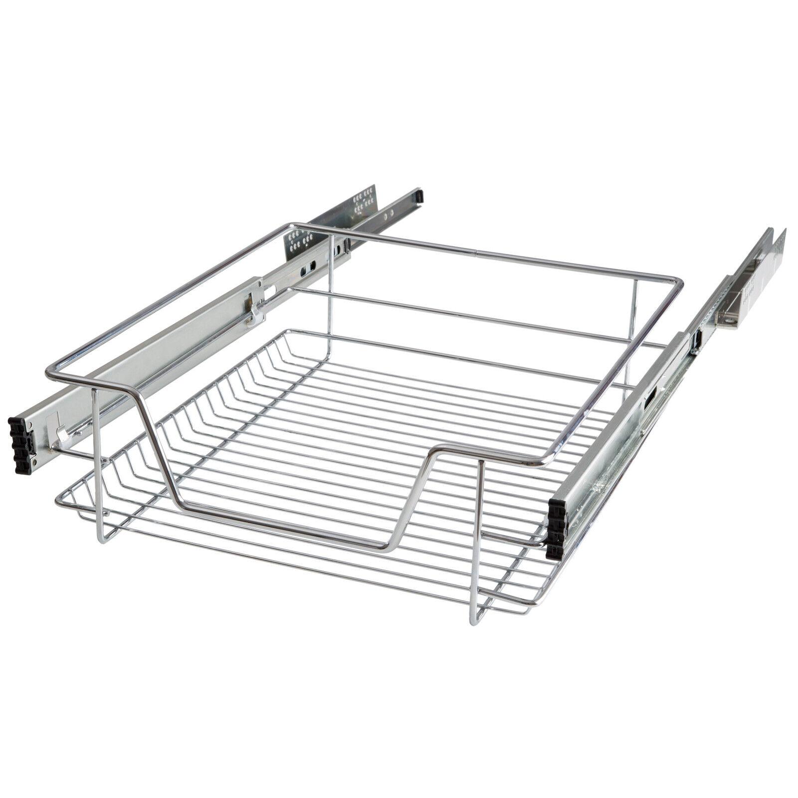 panier de rangement coulissant cuisine meuble pour placard tag re tiroir 50 cm eur 31 50. Black Bedroom Furniture Sets. Home Design Ideas