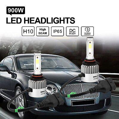 2x LED Headlight H10 9005 Conversion Kit High Beam Replace Halogen HID Bulbs