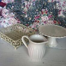 *FOR HIRE* High Tea Items: Cake Stand Jug Napkin Holder Merewether Newcastle Area Preview