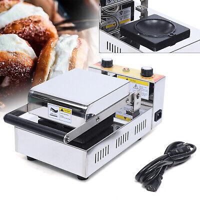1000w Commercial Electric Panini Press Machine Non-stick Pan Sandwich Maker 110v