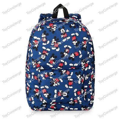 Mickey Mouse Backpack For Adults (DISNEY Store BACKPACK for Adults MICKEY MOUSE Print BLUE)