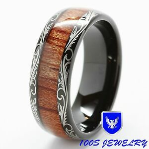 Image Result For Mens Wedding Band With Wood