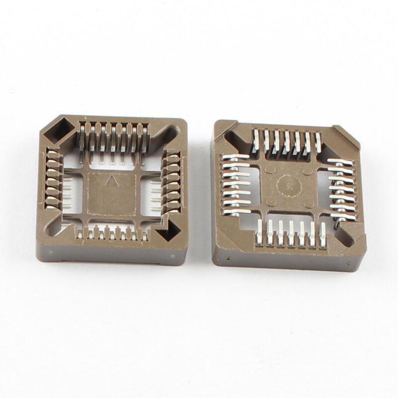 10Pcs PLCC28 PLCC28 Pin SMT Surface Mount  IC Socket Adapter Converter