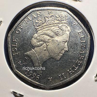 1996 T.T. Commemorative Type 50p Coin