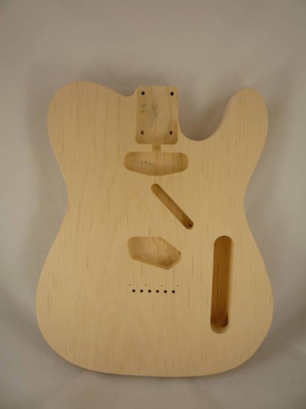MJT Official Custom Order Aged Nitro Finish on Pine Guitar Body Mark Jenny VTT