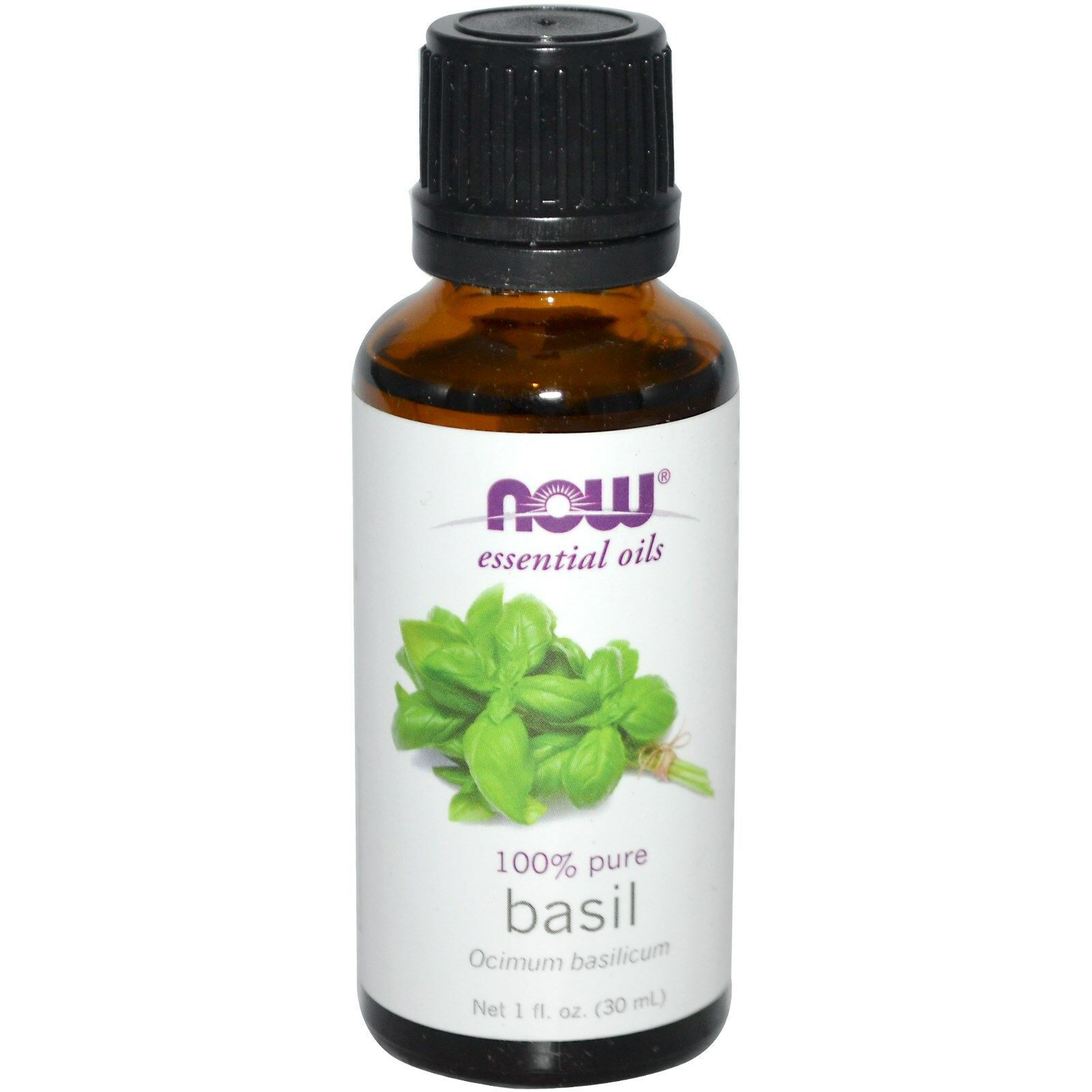 NOW Foods 1 oz Essential Oils and Blend Oils - FREE SHIPPING! Basil
