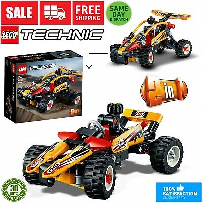 LEGO 42101 Technic Buggy to Racing Car 2-in-1 Building Set 117 Pieces 2020 MODEL