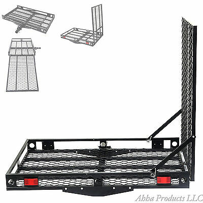 Wheelchair Carrier Scooter Rack Hitch Ramp Handicap Folding Loading Mobility Set