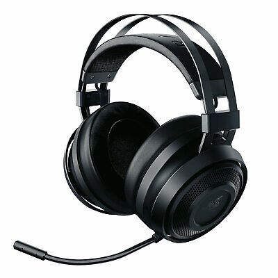 Razer Nari Essential Gaming Headset Kabelloser Over-Ear Kopfhörer PC PS