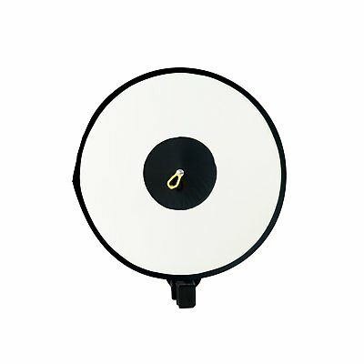 Collapsible Round Ring Diffuser Softbox Reflector For Speedlite Flash - Ring Flash Reflector