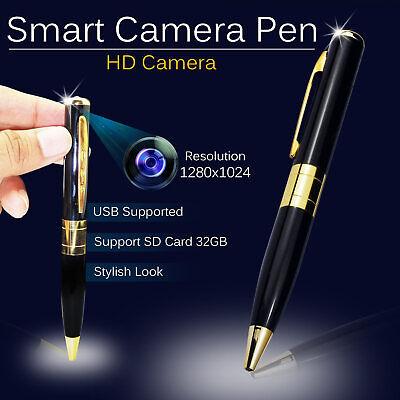 Digital Spy Camera Pen Hidden 1080p Video Voice Recorder HD DVR Camcorder Mic UK