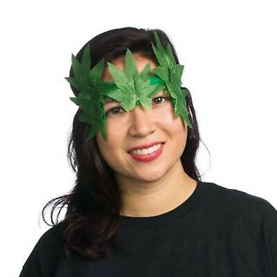 Autumn Pixie Fairy Leaf Costume Mask Eyemask Headband Green Accessory Fantasy - Fall Fairy Costume