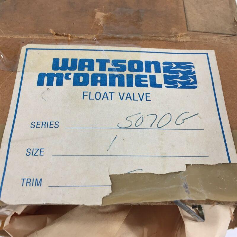 Watson McDaniel 5070 Float Valve Assembly