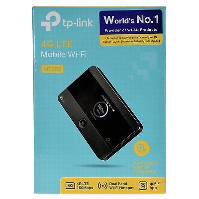 TP-LINK M7350-V5 4G LTE Mobile WiFi Wireless Router Hotspot