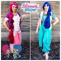 Shimmer and shine parties Princess poppy parties