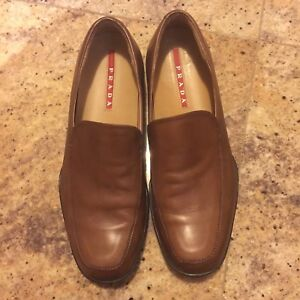 Men's Prada Loafers, Leather, Size 8 $150