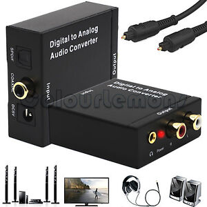 Digital-Optical-Coaxial-Toslink-to-Analog-RCA-L-R-3-5mm-Jack-TV-Audio-Converter