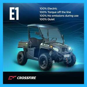 Crossfire E1 100% Electric Utility Vehicle 4x4 Winch Prestons Liverpool Area Preview
