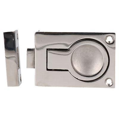 Door Lock Locker Catch Flush Lifting Ring Handle Marine Stainless Steel 316