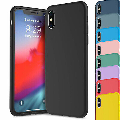 Soft Silicone Shockproof Matte Back Case Phone Cover For Apple iPhone 11, XR 6/7