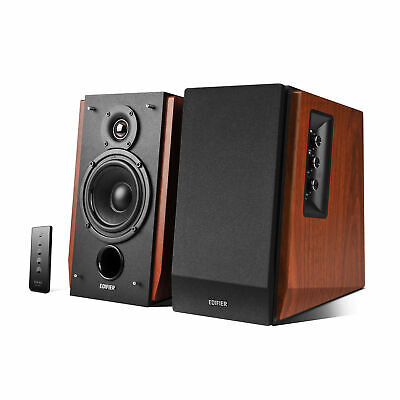 Edifier R1700BT 2.0 Lautsprechersystem Wood Bluetooth Aktiv PC Boxen Hifi...