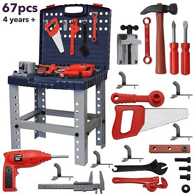 Toys for Boys Children Work Bench Tools Mechanic Set Construction Kit