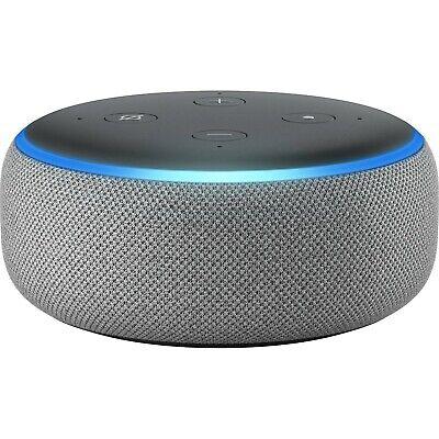 Amazon Echo Dot (3rd generation) Smart Speaker with Alexa  (Heather Gray)