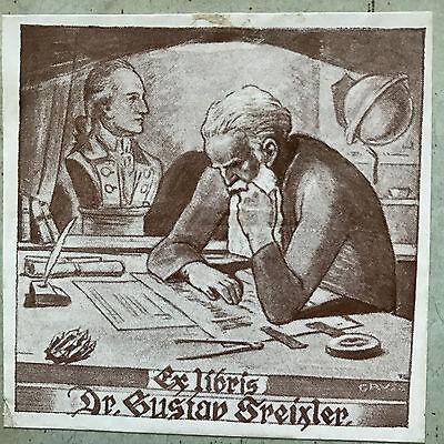 Jahresbericht Deutschen Landes Oberrealschule in Goding, EXLIBRIS 1903-1904