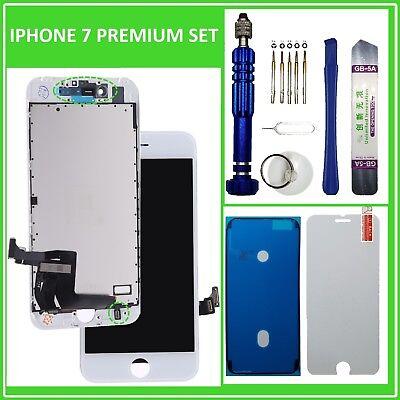 RETINA HD LCD Display für iPhone 7 mit 3D Touch Bildschirm Scheibe WEISS White