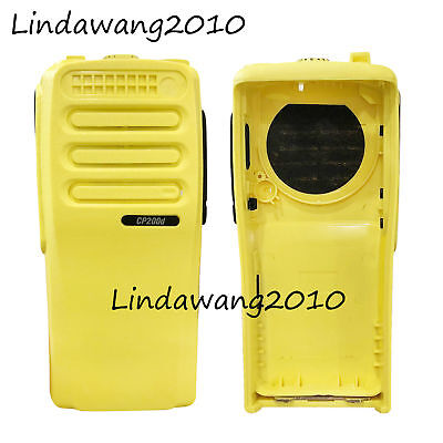 Brand New Yellow Housing Case compatible with Motorola CP200D Portable Radio