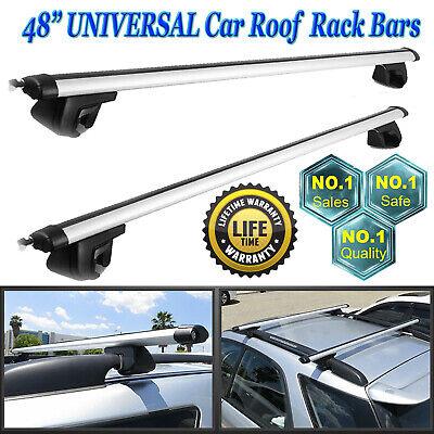 1994-2001 Heavy Duty Black Car Roof Rack Rail Bars to fit Volkswagen Polo Mk3