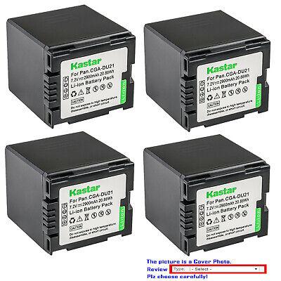 Kastar Replacement Battery for Panasonic CGA-DU21 CGA-DU14 CGA-DU07 CGA-DU06 Cga Du14 Lithium Ion Battery